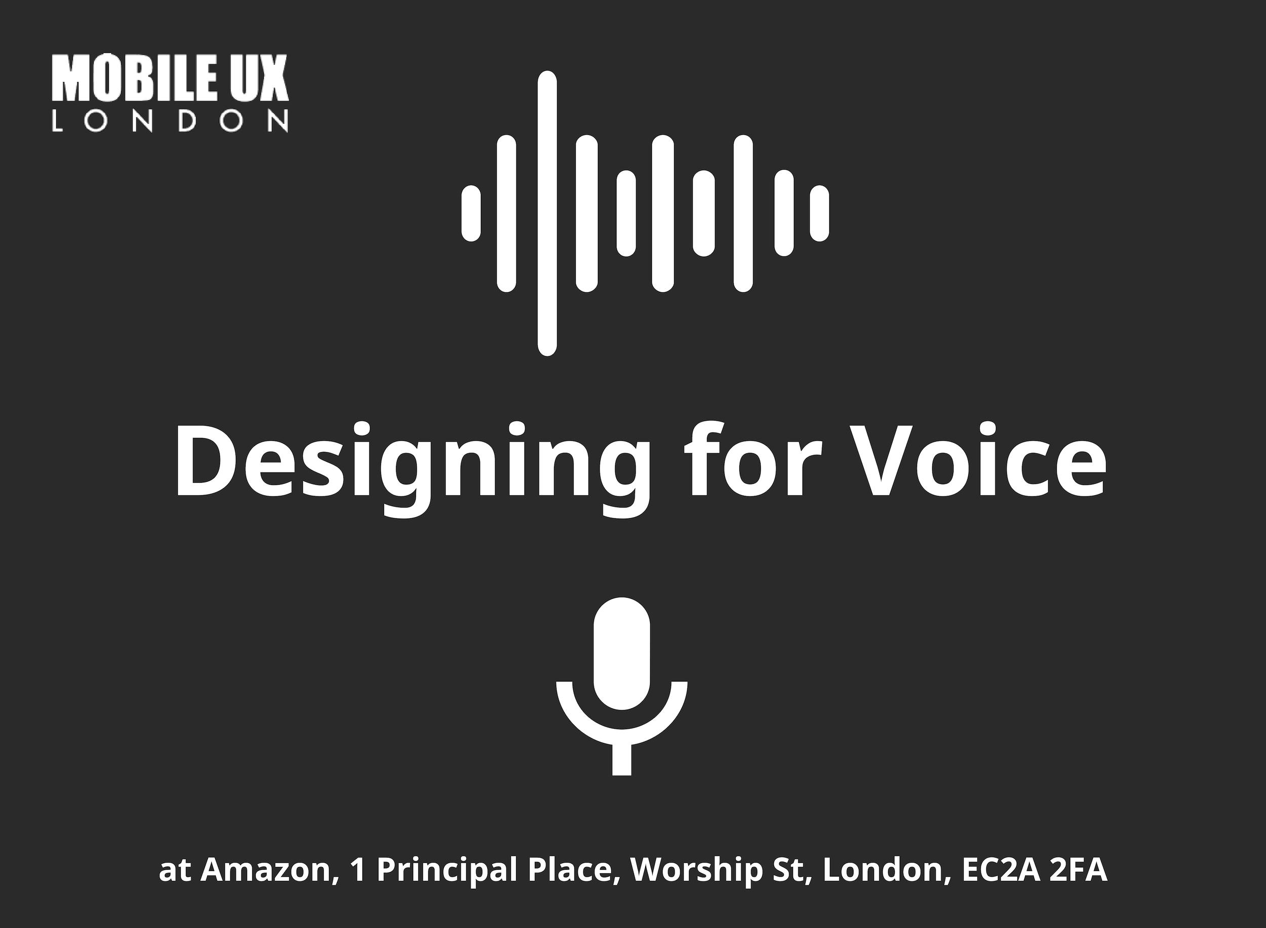 Voice Design