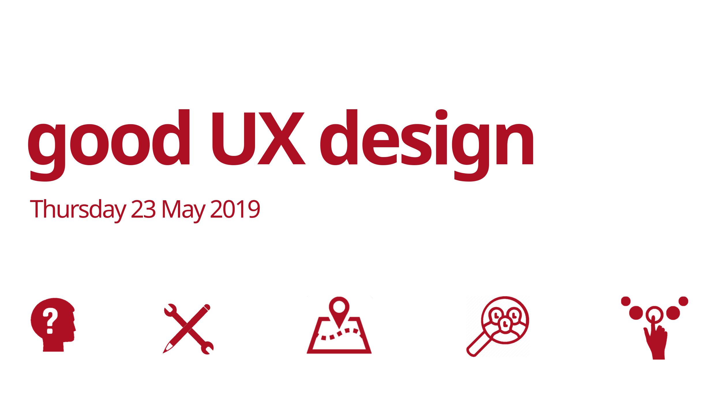 good ux design meet-up