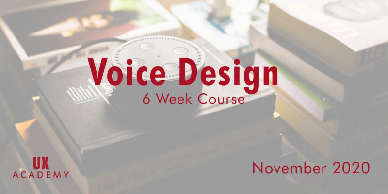 voice design course