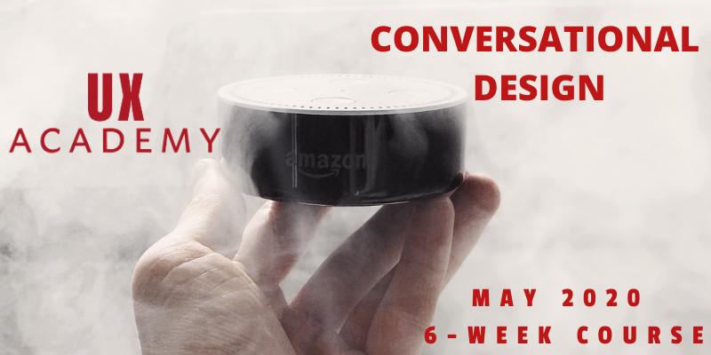 conversational design course promotion